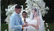 Jessica Iskandar dan Vincent Verhaag resmi menikah pada Jumat, 22 Oktober 2021. (Sumber: Instagram/thebridestory)