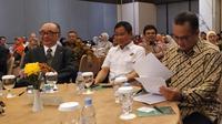 Menteri ESDM Ignasius Jonan menghadiri Acara International Conference of Resources and Environmental Economics (ICREE) di Bogor, Kamis (22/8/2019).