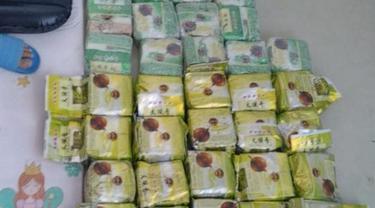Direktorat Tindak Pidana Narkoba Bareskrim Polri membongkar jaringan narkoba lintas provinsi. (dok Polri)