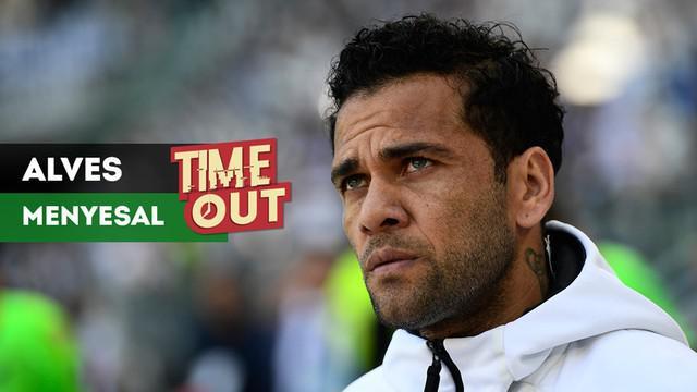 Bek Paris Saint-Germain, Dani Alves, membuat pernyataan yang bikin panas, Alves mengaku menyesal pernah berseragam Juventus.
