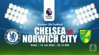 CHELSEA VS NORWICH CITY (Liputan6.com/Abdillah)