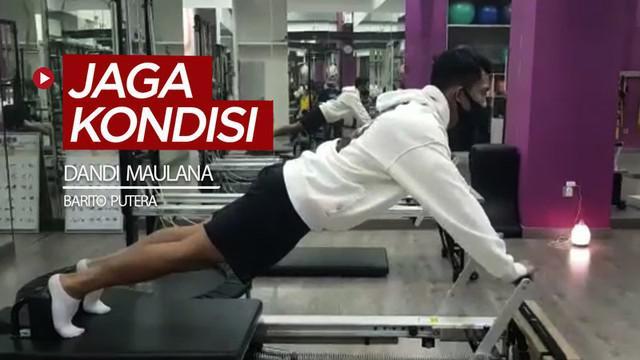 Berita video melihat cara pemain muda Barito Putera, Dandi Maulana, untuk menjaga kondisi fisik jelang kembali bergulirnya Shopee Liga 1 2020.