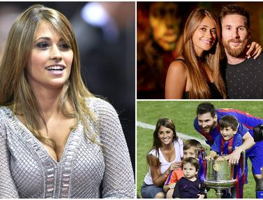 Potret Cantik Antonella Roccuzzo, Cinta Sejati Lionel Messi
