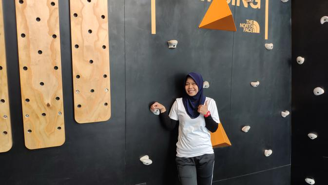 Harapan Peraih Emas Asian Games Puji Lestari Di Global Climbing Day