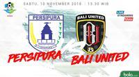 Liga 1 2018 Persipura Jayapura Vs Bali United (Bola.com/Adreanus Titus)