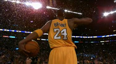 Berita video momen-momen Kobe Bryant saat bermain basket di Staples Center.