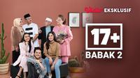 Sinetron 17+ kini tayang eksklusif di platform streaming Vidio mulai 15 Juli 2021. (Dok. Vidio)