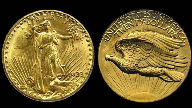1933 Double Eagle (Brilio.net)