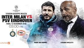 Inter Milan vs PSV (Liputan6.com/Abdillah)