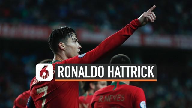 Portugal catatkan kemenangan besar saat lawan Lithuania di laga lanjutan Kualifikasi Euro 2020. Cristiano Ronaldo menjadi bintang dalam pertandingan ini.