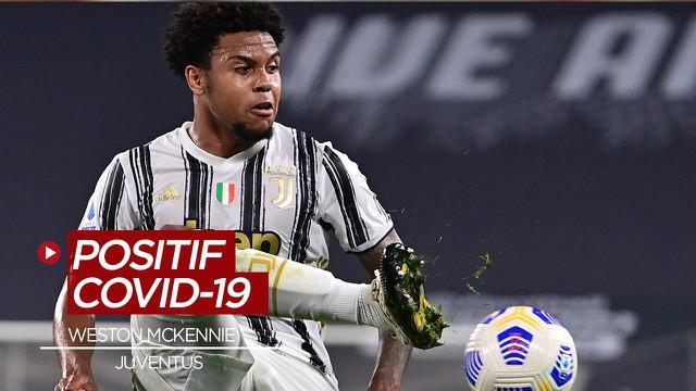 Berita Video Merupakan kasus kedua secara beruntun, pemain baru Juventus Weston McKenniee positif COVID-19