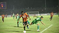 PSMS menang 1-0 atas Perseru di Stadion Teladan, dalam lanjutan Go-jek Liga 1 bersama Bukalapak. (Liputan6.com/Reza Efendi)