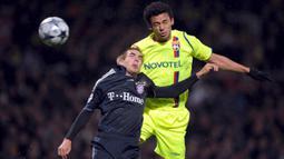 Nama Fred mulai menjadi perhatian dunia ketika dirinya bermain di Liga Prancis bersama Lyon pada periode 2005 hingga 2009. (EPA/Christophe Karaba).
