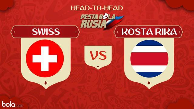 Berita video head-to-head Piala Dunia Rusia 2018: Swiss vs Kosta Rika.