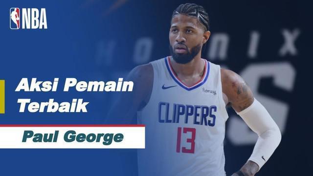 Berita Video Bawa LA Clippers Menang Saat Melawan Cleveland Cavaliers. Paul George Jadi Pemain Terbaik Hari Ini
