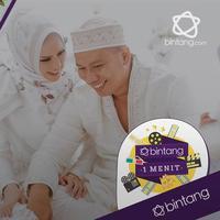 Vicky dan Angel baru saja melangsungkan akad nikah di masjid Istiqlal.