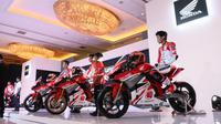 Pembalap Astra Honda Racing Team yang akan tampil di ajang balap Asia musim 2020 (Istimewa)