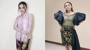 6 Gaya Tasya Rosmala Pakai Kebaya dan Batik, Tampil Anggun