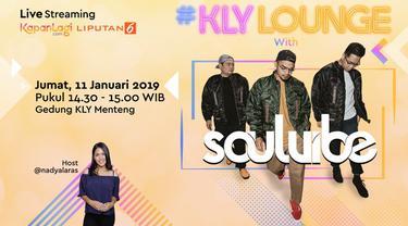 """Lama tak terdengar, Soulvibe kembali hadir ke blantika musik Indonesia dengan jalur musik indie dan mempersembahkan single terbaru berjudul """"Lebih Dari Sekedar Ini"""". Seperti apa penampilan Soulvibe sekarang? Saksikan di KLY Lounge berikut ini..."""