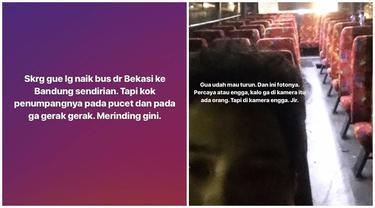 Pengalaman Mistis naik Bus Hantu Bekasi-Bandung, Serem Banget