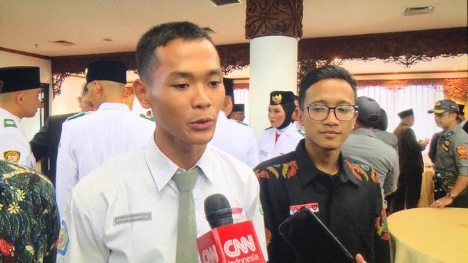 Kisah Koko, Viral Usai Gagal Jadi Paskibraka Nasional Tapi Datang ke Istana