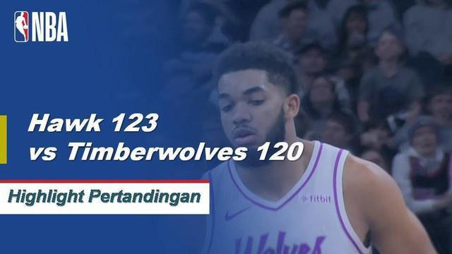 Kent Bazemore memimpin Hawks dengan 23 poin saat mereka mendapat kemenangan lembur atas Karl Anthony-Towns dan Timberwolves.