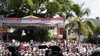 Syukuran acara kemenangan Prabowo-Sandiaga (Merdeka.com/ Hari Ariyanti)