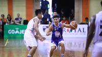 Satria Muda menaklukkan juara bertahan Satria Muda Pertamina Jakarta 78-66 pada seri ketiga IBL 2018-2019 di GOR Merpati Denpasar Bali, Jumat (14/12/2018). (Media IBL)