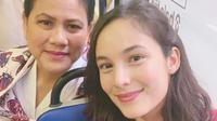 Chelsea Islan ikut uji coba MRT Jakarta. (dok. Instagram @chelseaislan/https://www.instagram.com/p/BvY-mEEgl1N/Asnida Riani)