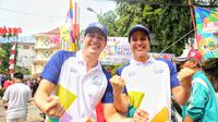 Pawai Obor Asian Games 2018 (Adrian Putra/bintang.com)