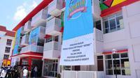 Kementerian PUPR meresmikan tiga rumah susun untuk santri dan mahasiswa di Pekalongan, Jawa Tengah. (Foto:Humas Kementerian PUPR)