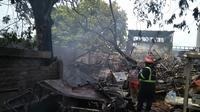 Gudang Pengolahan Limbah RSUD Kabupaten Bekasi Terbakar