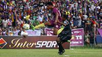 Persik akan menghadapi tim tangguh di babak 8 besar Liga 3 2018 di Stadion Brawijaya, Kota Kediri, 16-22 Desember 2018. (Bola.com/Gatot Susetyo)