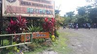 Kampung Flory di Sleman menawarkan sensasi wisata dengan tiga keuntungan sekaligus (Liputan6.com/ Switzy Sabandar)