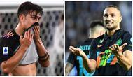 Juventus tak berdaya saat bersua Sassuolo pada laga pekan ke-10 Serie A, Rabu (27/10/2021) malam WIB. Sementara itu, Inter Milan sukses mendulang tiga poin di kandang Empoli. (AFP)