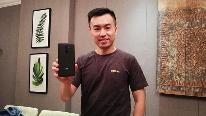 Head of Poco Global, Alvin Tse (Foto: Andina Librianty/Liputan6.com)