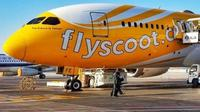 Scoot melayani penerbangan umrah dari Indonesia k Jeddah. (dok. Instagram @flyscoot/https://www.instagram.com/p/Bn8EuSMAo7i/Henry