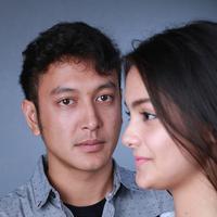 Amanda Rawles dan Dimas Anggara Film Promise (Fotografer: Deki Prayoga/Bintang.com)