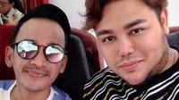 Ruben Onsu sudah menganggap Ivan Gunawan seperti kakak kandung sendiri. Mereka kerap memandu acara yang sama dan selalu menuai kesuksesan. (Foto: instagram.com/ruben_onsu)