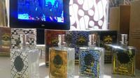 Parfumbatik menjadi inovasi produk batik yang menerapkan motif batik sebagai varian aroma. (Liputan6.com/ Switzy Sabandar)