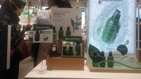 Merek produk kecantikan asal Korea Selatan, Innisfree, membuka gerai pertamanya di Yogyakarta, tepatnya di Ambarrukmo Plaza (Liputan6.com/ Switzy Sabandar)