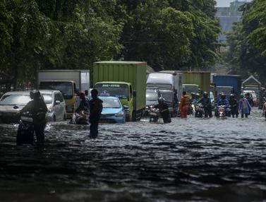 Diguyur Hujan, Kawasan Rawa Bokor Terendam Air