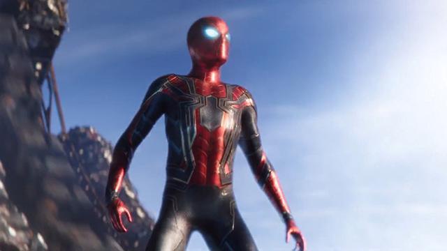 Spider-Man dalam Avengers: Infinity War