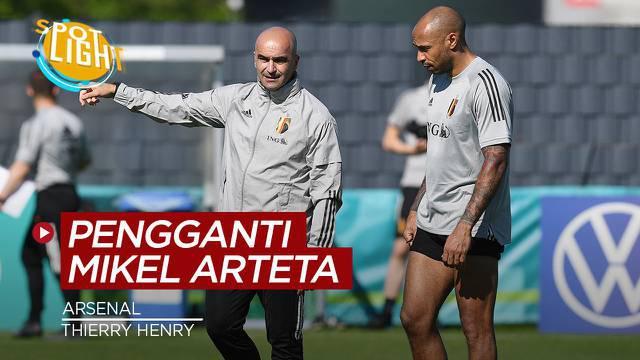 Berita video spotlight yang membahas empat calon pengganti Mikel Arteta jika dipecat Arsenal.