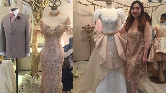 Tampil Glamour Namun Tetap Natural Dengan Wedding Dress Tema Ini