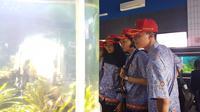 Kunjungan Paskibraka 2017 ke Ragunan selesai sebelum pukul 12.00 WIB. Mereka kemudian melanjutkan wisata ke TMII, Jakarta Timur. (Liputan6.com/Aditya Eka Prawira)