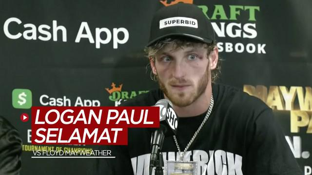 Berita video youtuber, Logan Paul, disebut Floyd Mayweather selamat dari laga tinju melawan dirinya.