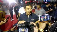 Kapolda DIY terkenang masa muda saat membuka acara ISF 2019 di JEC Yogyakarta, Sabtu (21/9/2019). (Liputan6.com/ Switzy Sabandar)