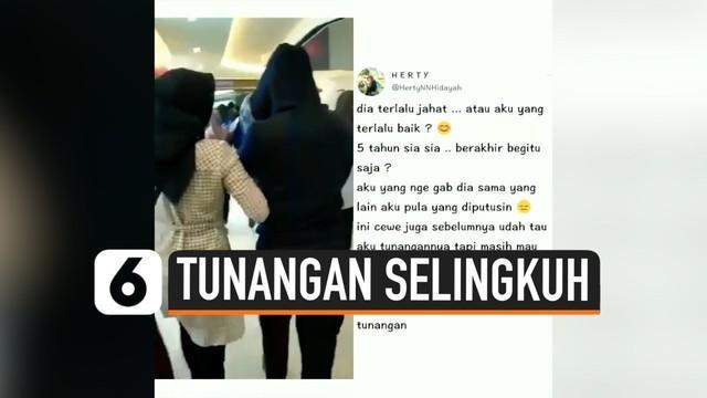 Baru ini viral di media sosial, curahan hati seorang Polwan asal Kendal, Jawa Tengah, yang memergoki tunangannya selingkuh bersama wanita lain di Bioskop. Dengan santai, polwan tersebut menghampiri dan menggandeng mereka berdua keluar bioskop.
