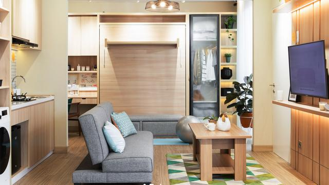 5 Inspirasi Desain Ruang Keluarga Berkonsep Japandi, Simpel Maksimal